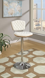 2 Pcs Retro Bar stool with Tufted Backing.color option