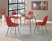 5 Piece Contemporary Set-Color Option