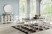 7  Pcs Traditional  Dining Set
