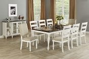 9 Pcs Traditional  Dining Set