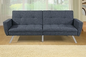 Ash Black Adjustable Sofa