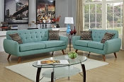 2 Pcs Modern Sofa Set