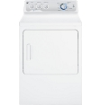 GE 7.0 cu. ft. capacity Dura Drum electric dryer with HE SensorDry