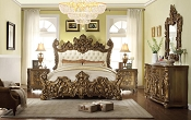 HD-8008 Luxury Platinum King Bed Frame
