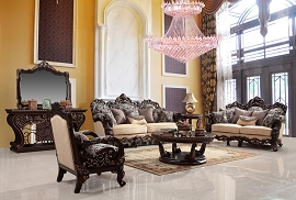 2 Pcs Elegant Living Room Set