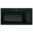 Hotpoint® 1.6 cu. ft. 1000W Black  Microwave Oven