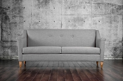 Light Modern Grey Sofa