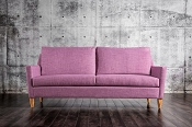 Purple Modern Sofa