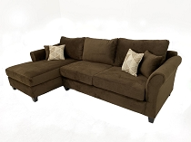 Leonardo 2 Pcs Sectional