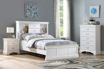 White Bookcase Bed Frame
