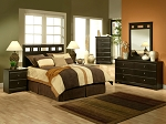 8 Pcs Queen Panel Malibu Bedroom Set with Mattreses