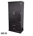 Tall Espresso Finish Wardrobe