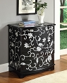 Black Finish Bombay Chest