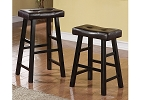 Black Finish Stool