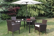 6 Pcs Outdoor Table Set