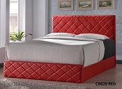 Queen Red Bed Frame