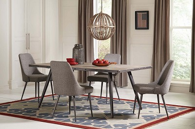 Industrial Style Counter Height Dining Table -with chair options