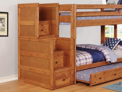 Full/Full Solid Pine Bunk Bed