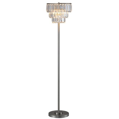 Flaux Crystal Shade Floor Lamp