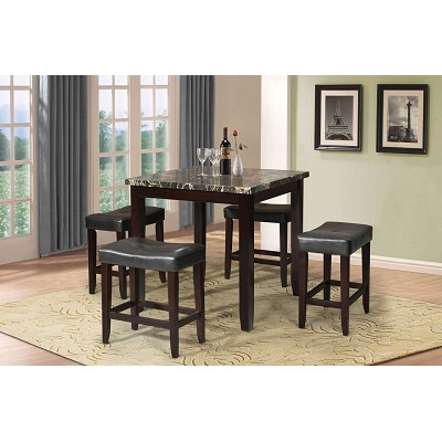 crown table point sets willard counter height set square