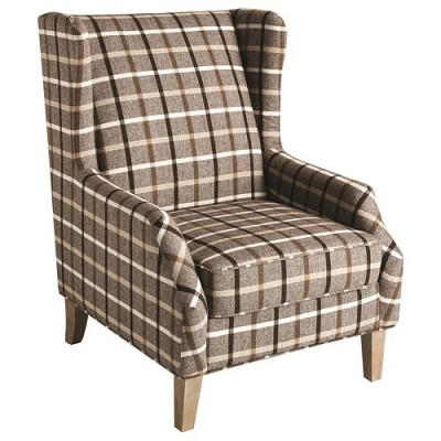 Button-Tuft Accent Chair