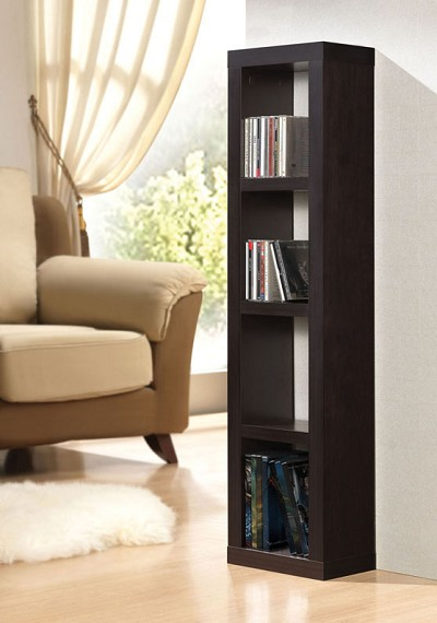 Espresso Finish Bookcase
