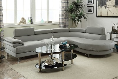 2 PC Sectional Sofa w/ Flip Up Headrest ( out of stock ) ETA 2020-07-06