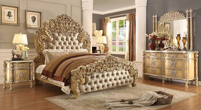 HD-8015 Luxury Platinum King Bed Frame