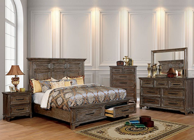 OBERON - Cornice Styled Bed frame