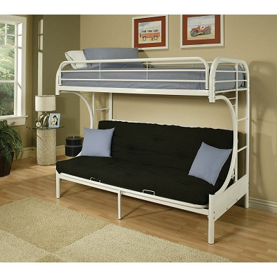 Twin Full Futon Bunk Bed With Mattress