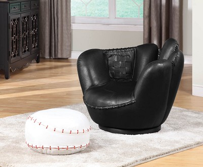 2 Piece All Star Chair and Ottoman