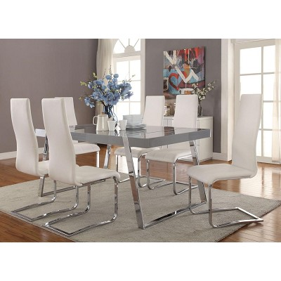 5 Pcs Contemporary Dining Set