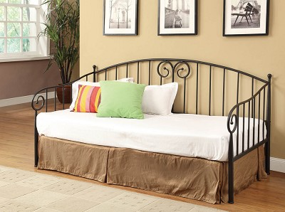 Dark Bronze Finish Day Bed