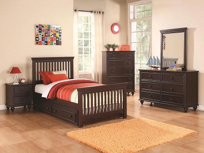 Espresso Finish Bed Frame