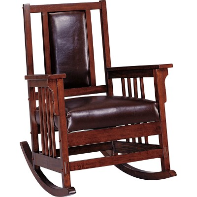 Dark Oak Rocking Chair