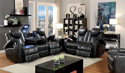 Zaurak Power Recliners Sofa