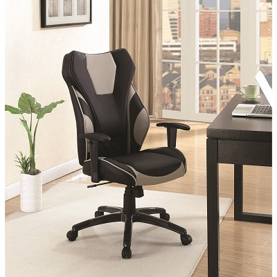 Office Chairs Leatherette High Back Office Chair