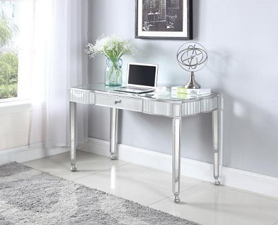 Glam Writing Desk  with Mirror
