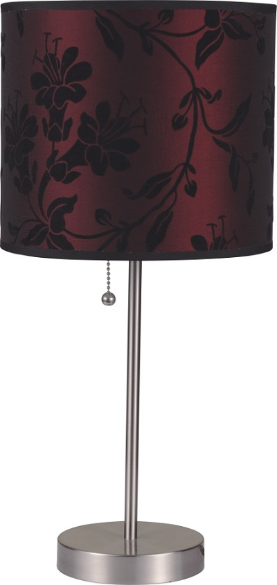 Red Modern Table Lamp