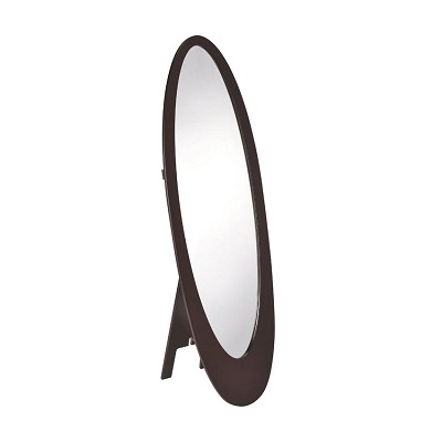Traditional Oval Floor Mirror