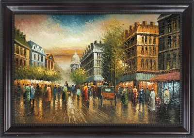 Twilight in Paris Canvas Painting