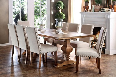 5 Pcs Macapa Dining Table - additional chair option