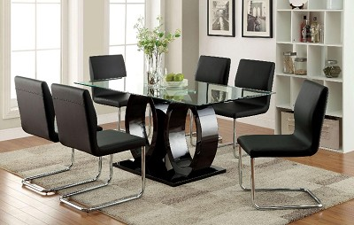 7 Pcs Contemporary Dining