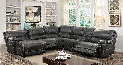 Breatheable Leather Sectional- color option