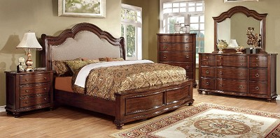 Traditional Elegant Bed Frame
