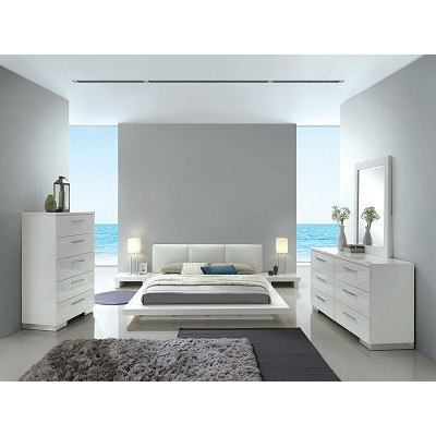 Modern White High Gloss Lacquer