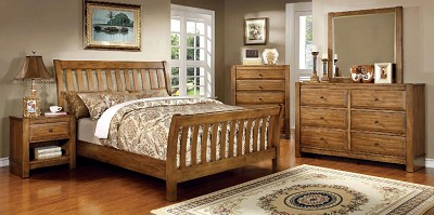 King Solid Bed Frame