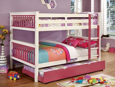 Full/Full Bunk Bed-color option