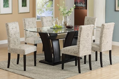 7 Piece Dark Chocolate Dinette