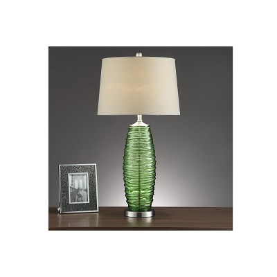 Green Base Table Lamp